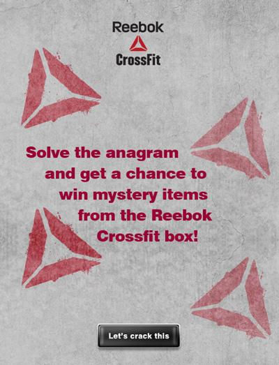 Facebook Application Reebok 277