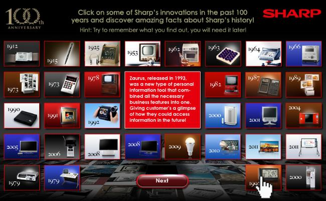 Facebook Application Sharp 100th Anniversary 313