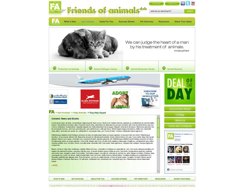 Friend of Animals image link