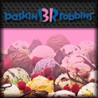 Main menu Facebook Application Baskin Robbins