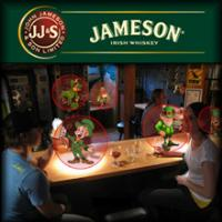 Main menu Facebook Application Jameson Irish Whiskey